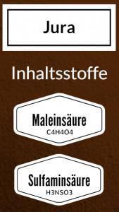 Jura Entkalker Inhaltsstoffe Maleinsäure Sulfaminsäure